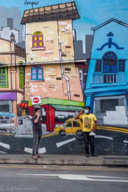 Little India Graffiti - Singapore